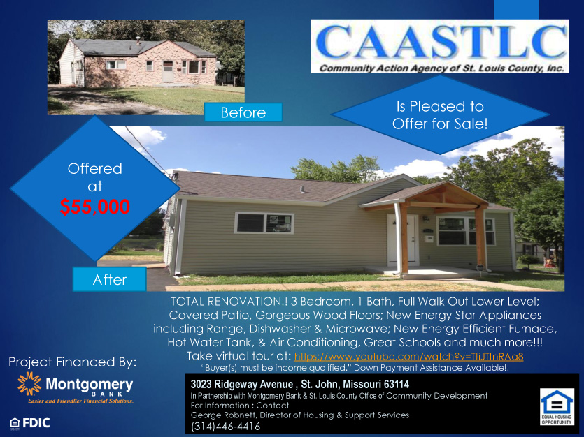 Home for Sale by CAASTLC